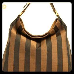 Fendi Bags - Authentic FENDI Canvas Shoulder Bag -Rare-